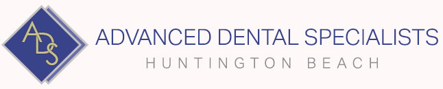 Logo for Advanced Dental Specialists in Huntington Beach